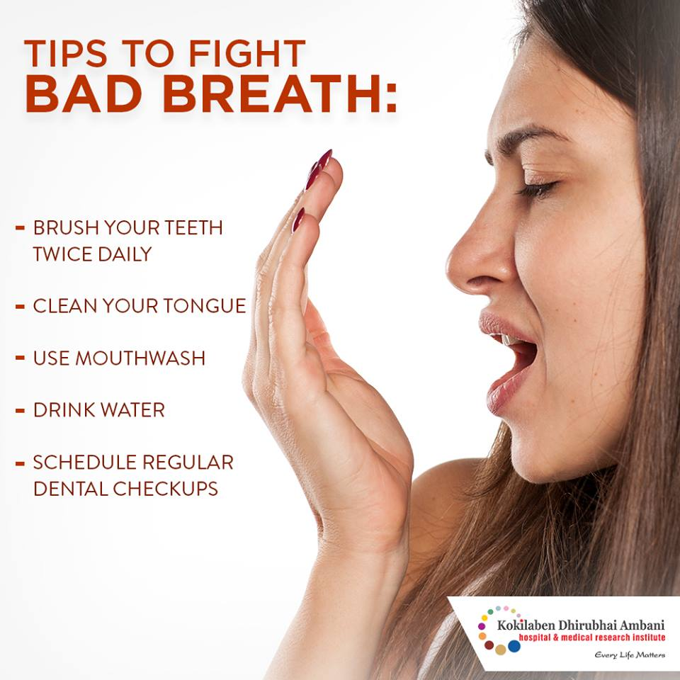 Tips to fight bad breathe