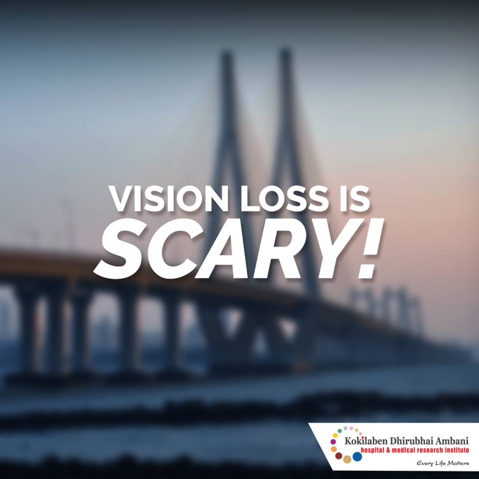 Vision loss is scary!
