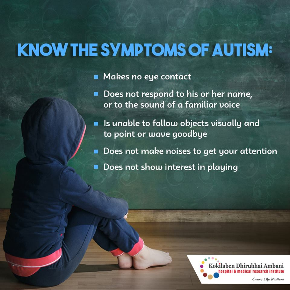 Symptoms of autism