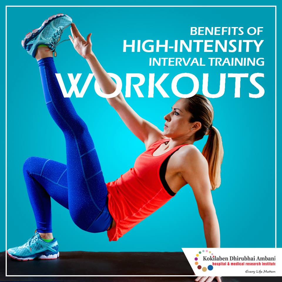 Benefits of high-intensity interval training workouts