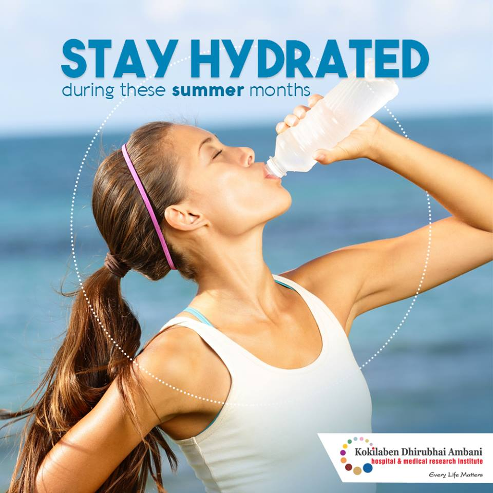 Stay hydrated this summer
