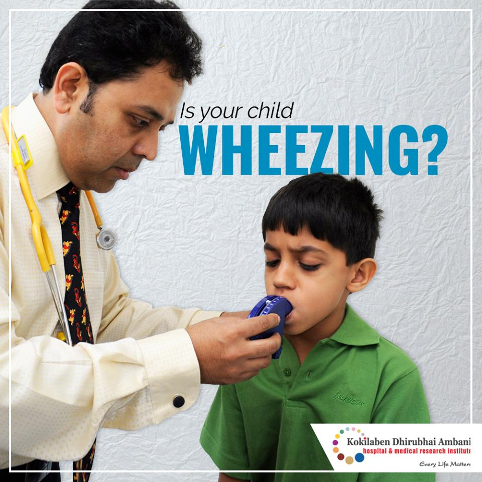 Is your child wheezing?