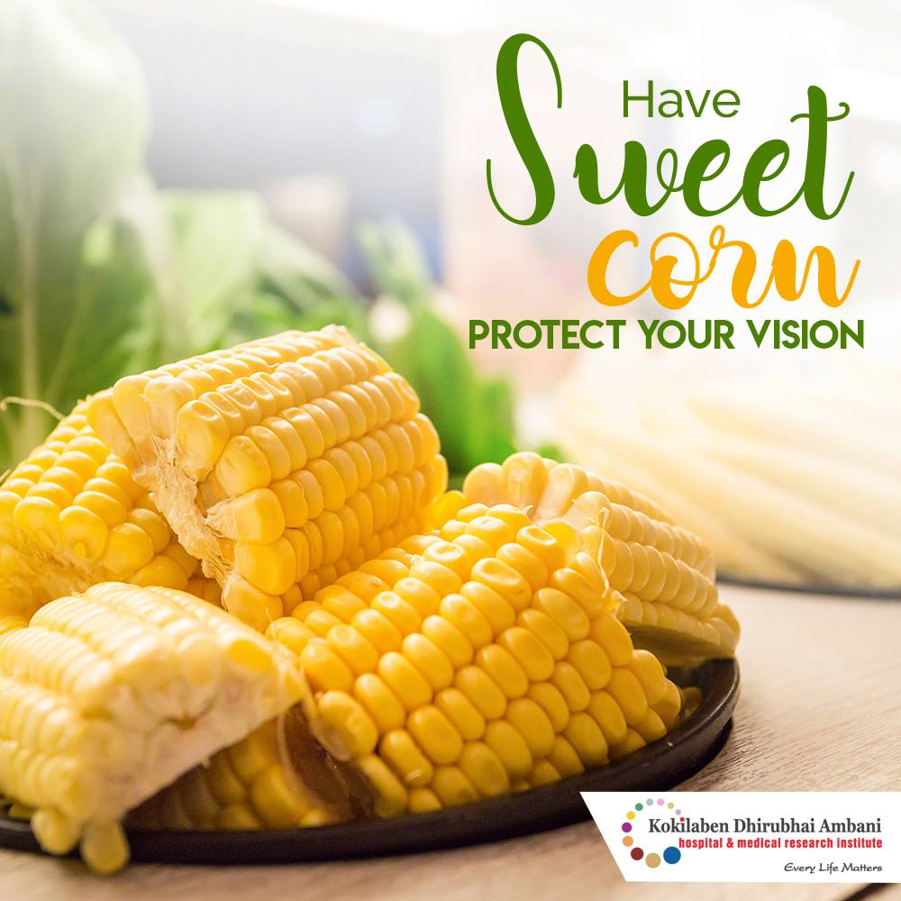 Sweet Corn: Good for your sight