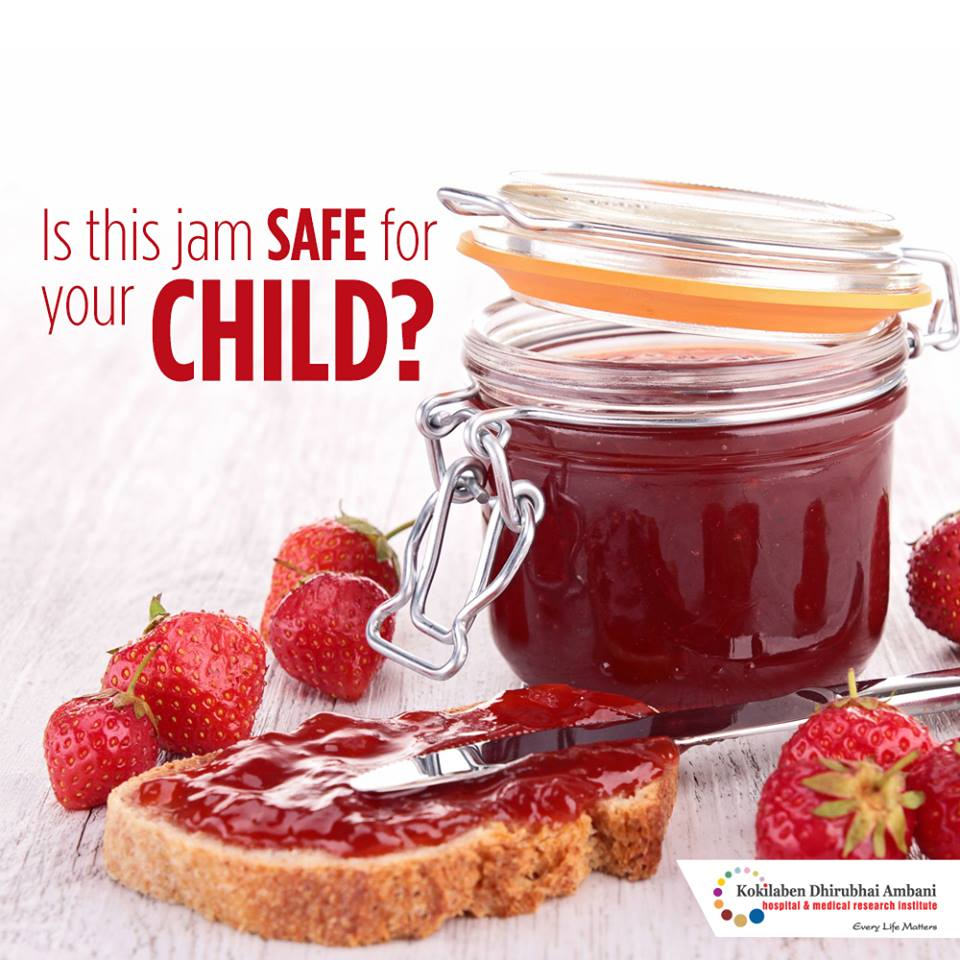 Is this jam safe for your child?