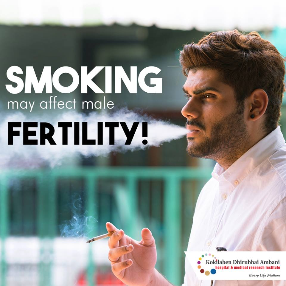 Smoking may affect fertility!