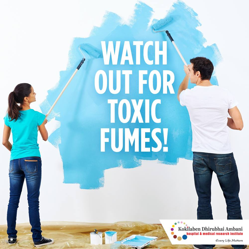 Watch out for toxic fumes!