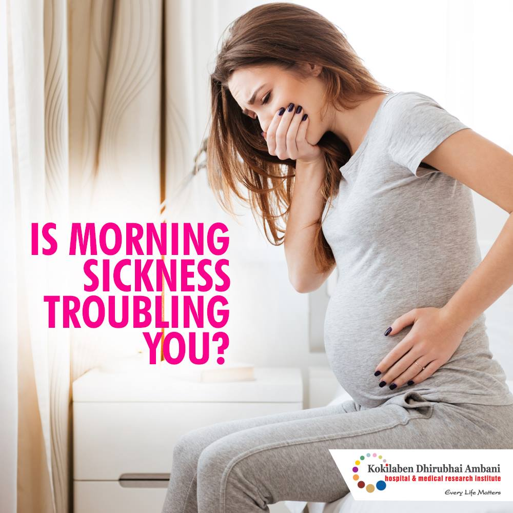 Is morning sickness troubling you?