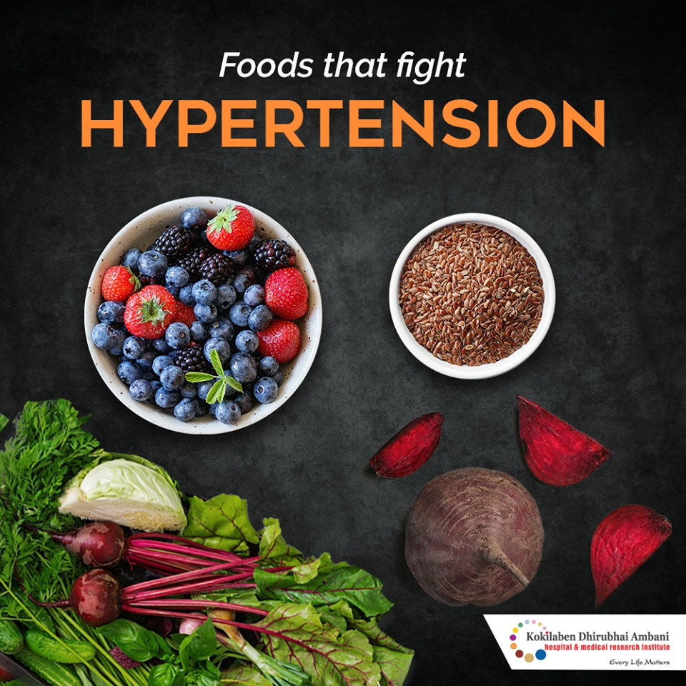 Foods that fight Hypertension