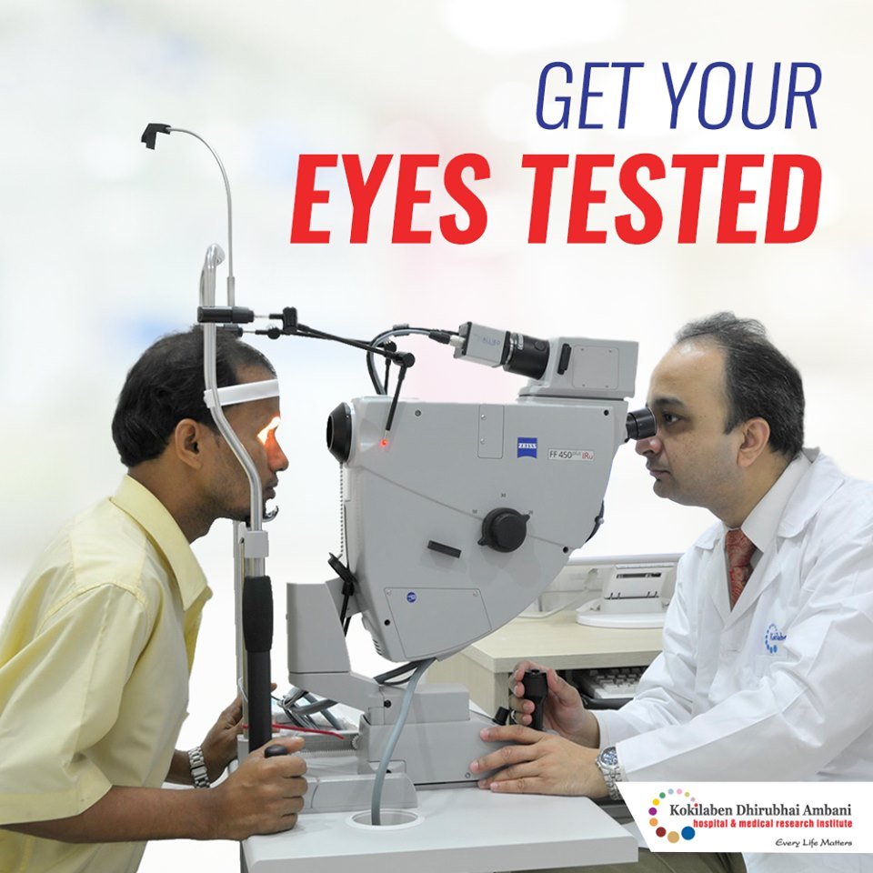Get your eyes tested