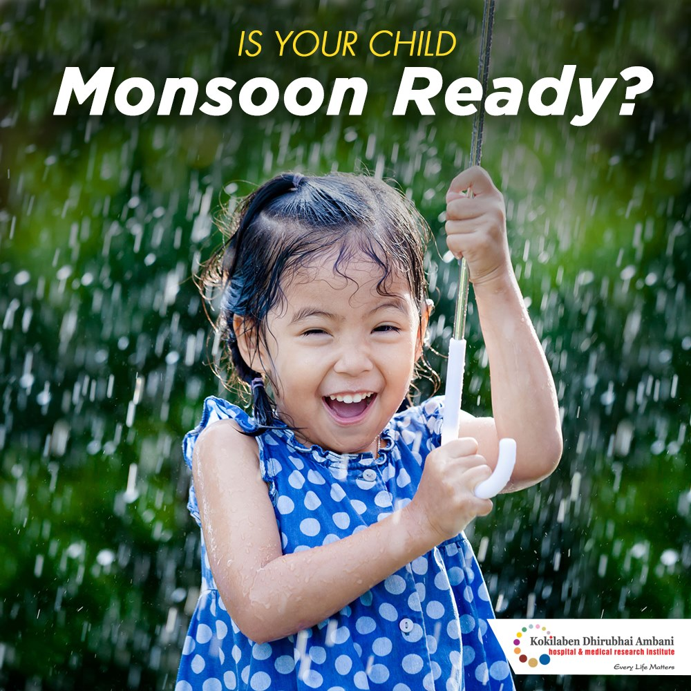 Is your child monsoon ready?