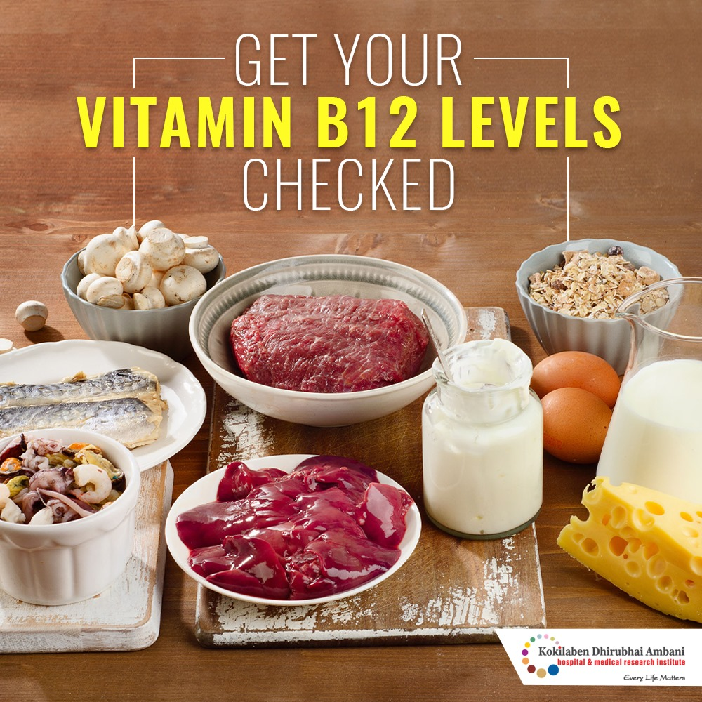 Get your Vitamin b12 levels checked