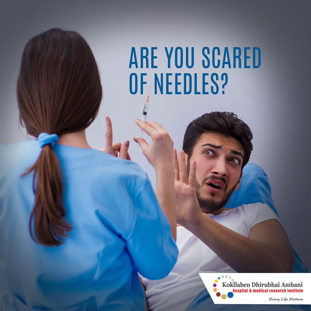 Are you scared of needles?