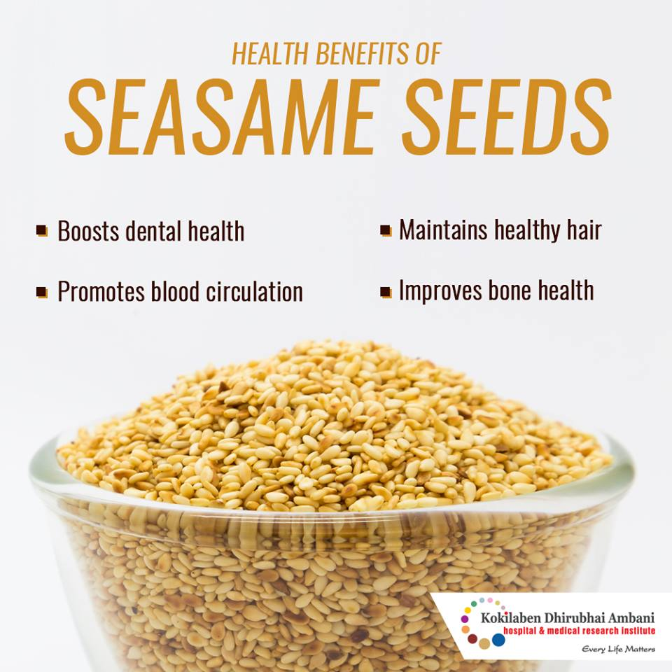 Sesame Seeds: Powerpacked with nutrients