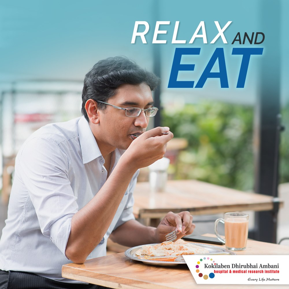 Relax and eat!