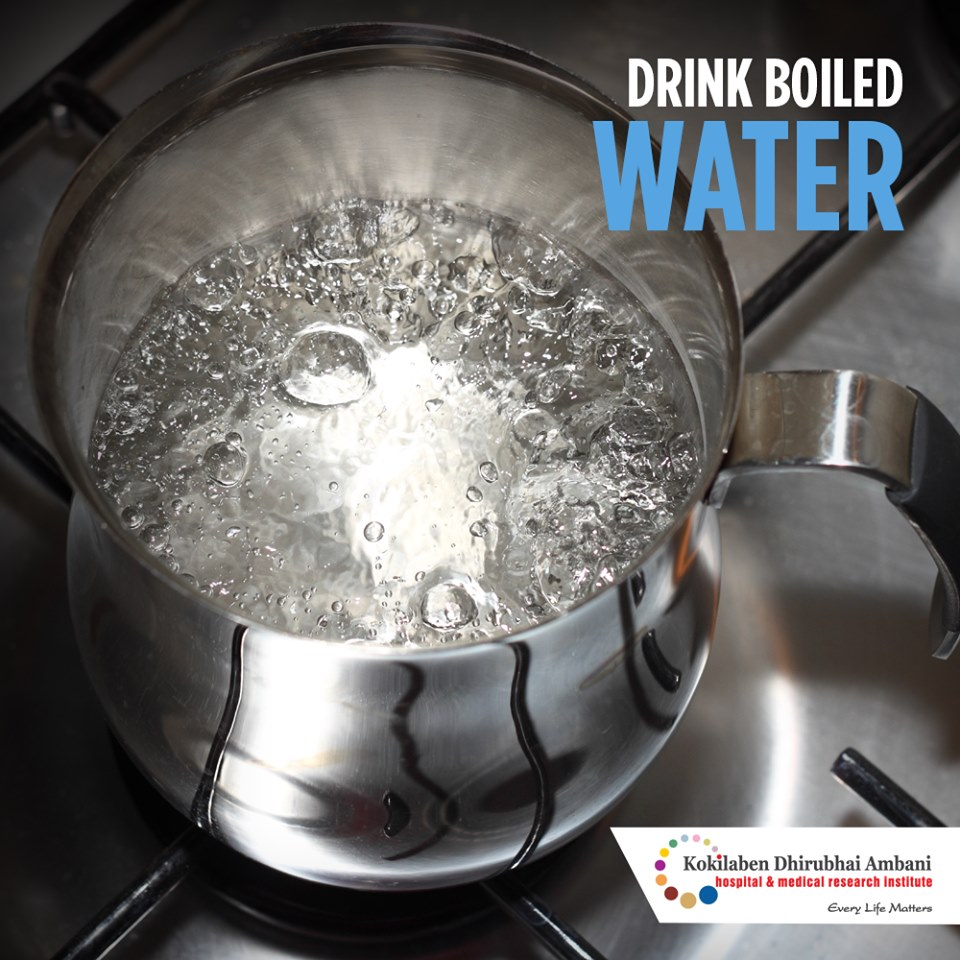 Drink Boiled Water