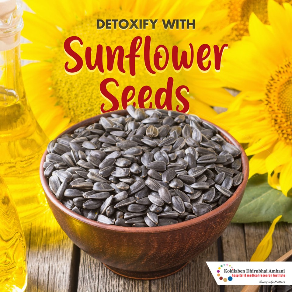Detoxify with sunflower seeds