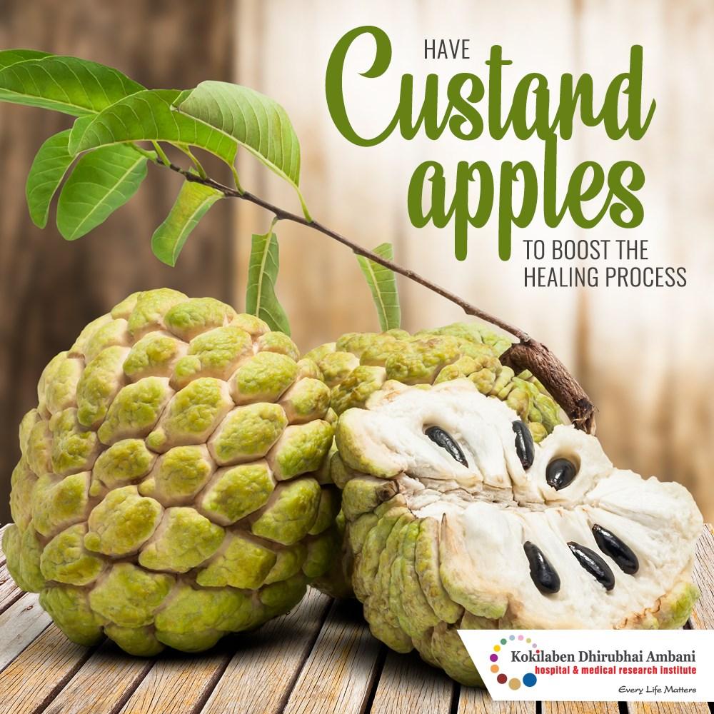 Benefits of Custard Apples