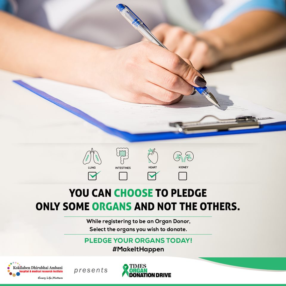 Pledge your organs today!