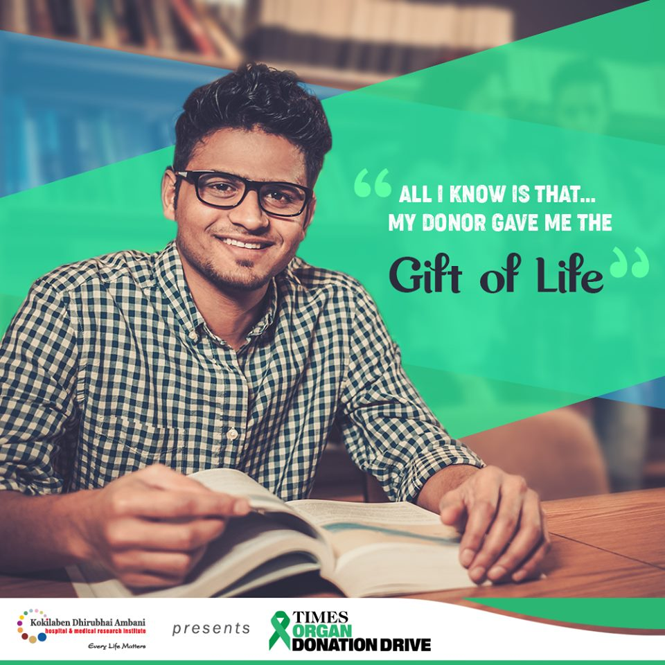 Register for organ donation and save a life!