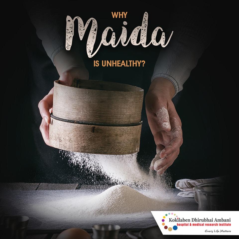Why maida is unhealthy?