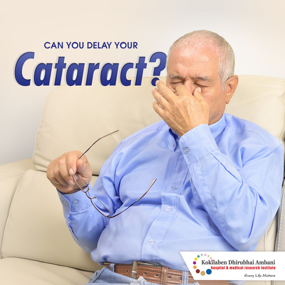 Can you delay your cataract?