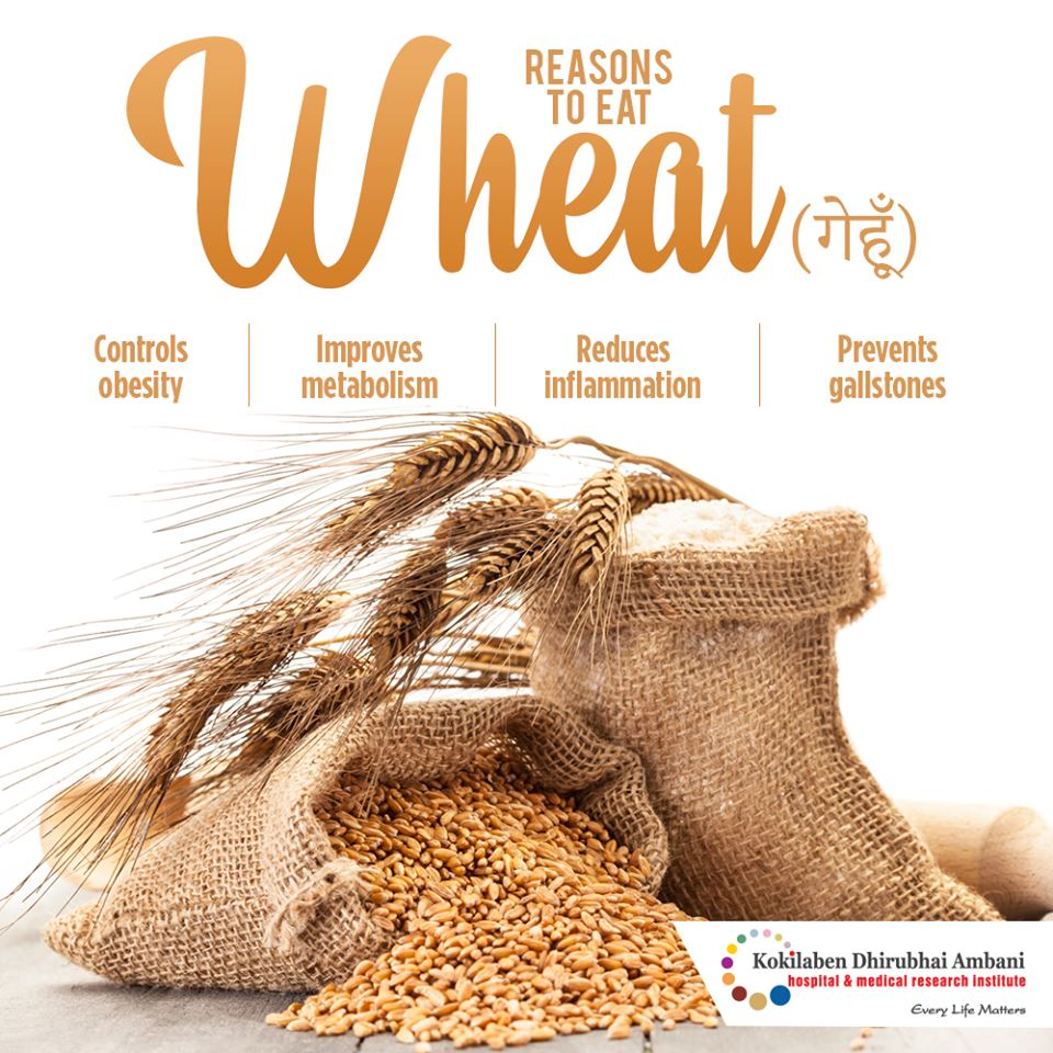 Reasons to eat wheat
