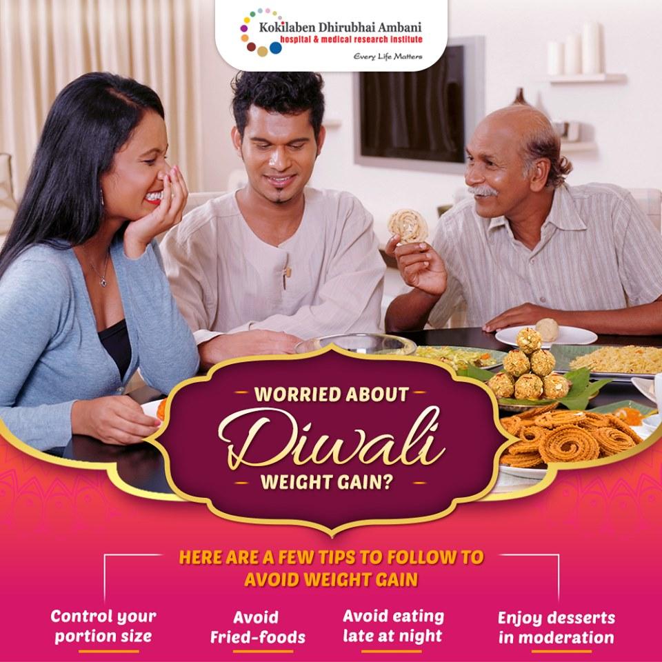 Worried about Diwali weight gain?