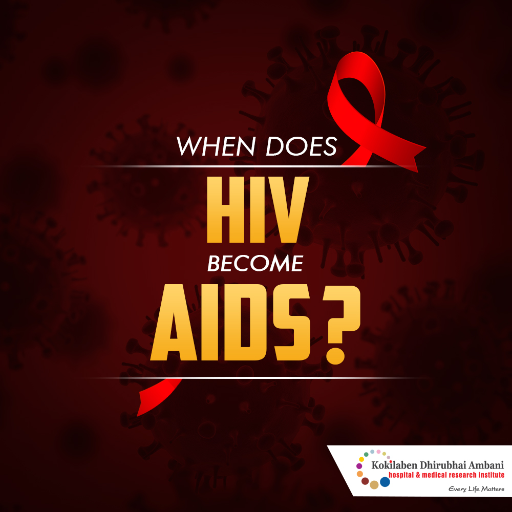 When does HIV turn into AIDS?