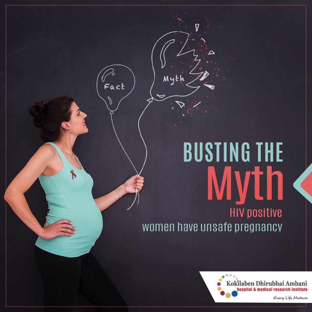 Myth: HIV+ women cannot have a safe pregnancy