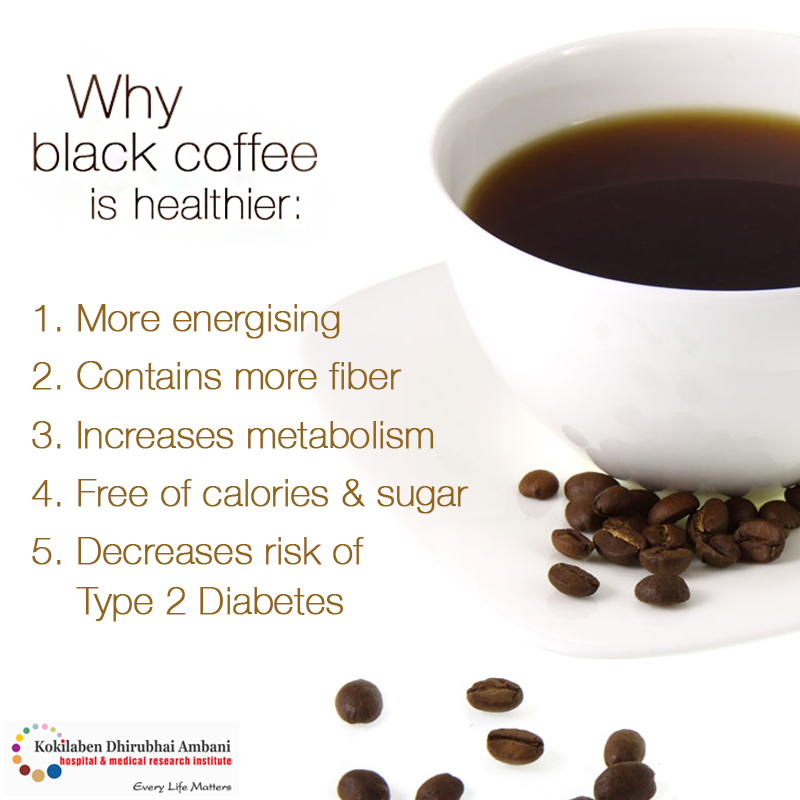 It's time to power up with black coffee