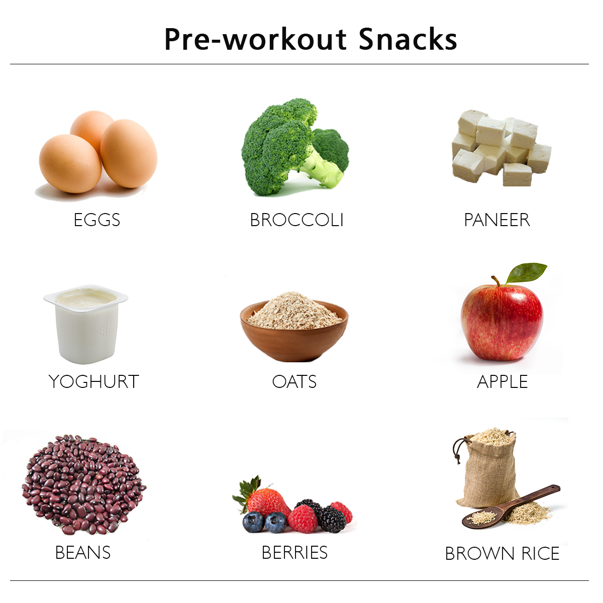 Good Pre Workout Breakfast Foods