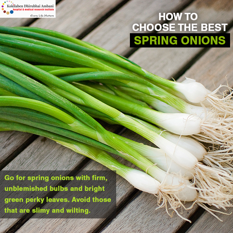 How to choose the right kind of spring onions